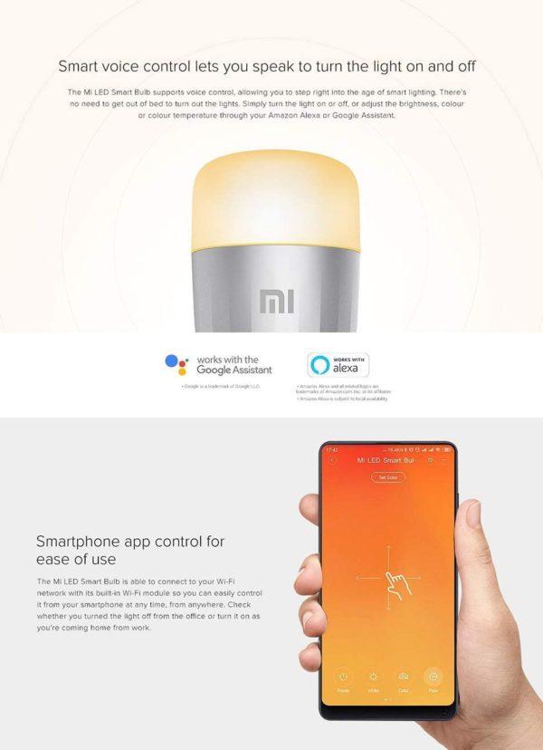 Ampoule LED Xiaomi Mi LED