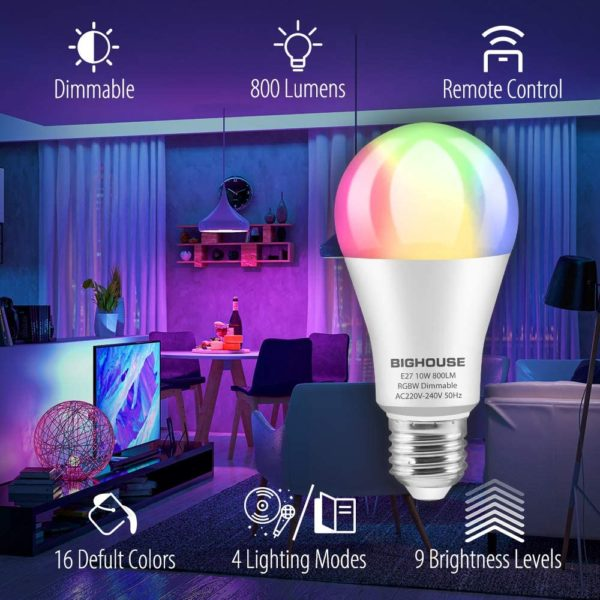 Ampoules LED Couleur