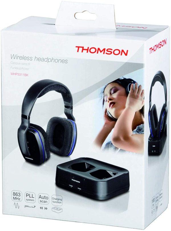 Casque sans fil TV Thomson WHP3311BK