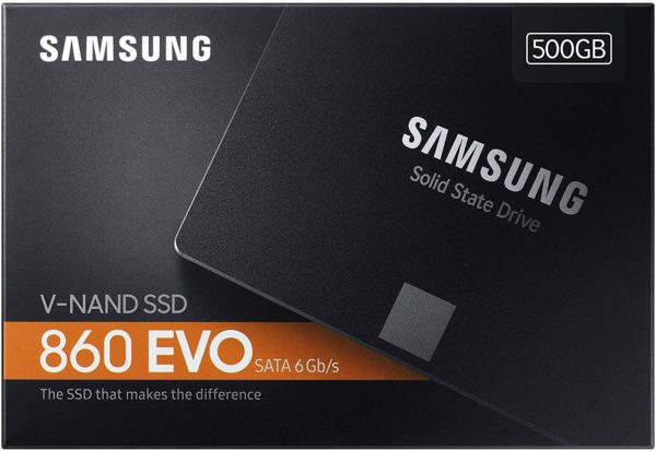 "Disque Samsung SSD Interne 860 EVO 2.5"""